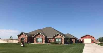 Amarillo Single Family Home For Sale: 8300 Cpt Woodrow Call Trl