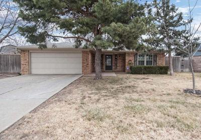 Amarillo Single Family Home For Sale: 8217 Lamount Dr