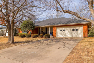 Potter County, Randall County Single Family Home For Sale: 6800 Dreyfuss Rd