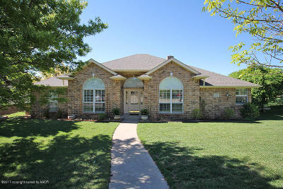 Amarillo Single Family Home For Sale: 6229 Cedar Hollow Dr