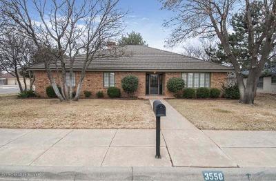 Amarillo Single Family Home For Sale: 3558 Sleepy Hollow Blvd