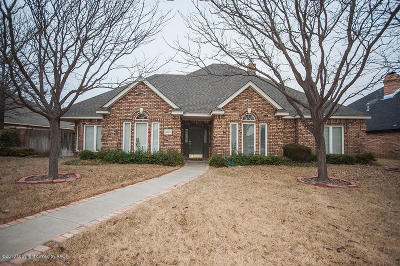 Amarillo Single Family Home For Sale: 8117 Victory Dr