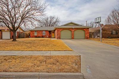 Amarillo Single Family Home For Sale: 4004 Kingston Rd
