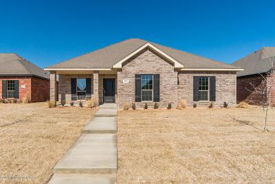Amarillo Single Family Home For Sale: 9202 Kori Dr