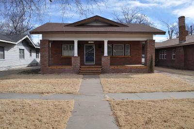 Amarillo Single Family Home For Sale: 1915 Harrison St