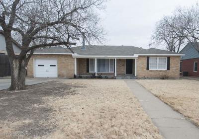 Amarillo Single Family Home For Sale: 1615 Crockett St