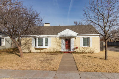 Amarillo Single Family Home For Sale: 2409 Tyler St