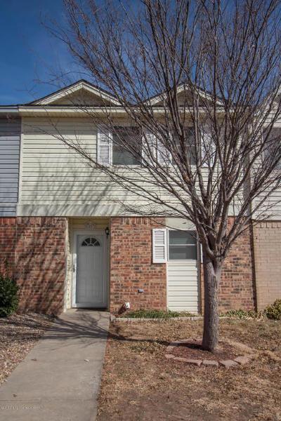 Amarillo Condo/Townhouse For Sale: 4407 Alicia Dr