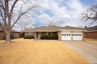 Amarillo Single Family Home For Sale: 5106 Shawnee Trl