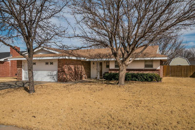 Amarillo Single Family Home For Sale: 1309 Clyde St