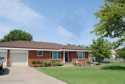 Carson County Single Family Home For Sale: 1001 Flora Ave