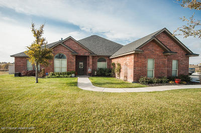 Canyon Single Family Home For Sale: 16700 Spring Lake Dr