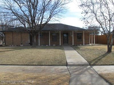 Potter County, Randall County Single Family Home For Sale: 7401 Jameson Dr