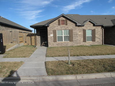 Amarillo Condo/Townhouse For Sale: 7121 Mosley St