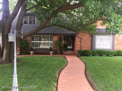 Amarillo Single Family Home For Sale: 3003 Harmony St