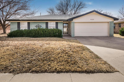 Amarillo Single Family Home For Sale: 6202 Rutgers St