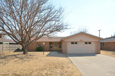 Amarillo Single Family Home For Sale: 5617 40th SW Ave