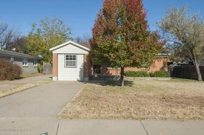Potter County, Randall County Single Family Home For Sale: 4224 Jennie Ave