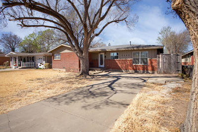Amarillo Single Family Home For Sale: 3402 Lynette Dr