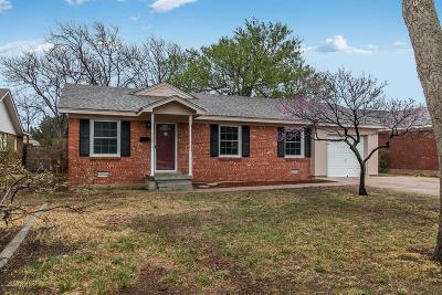 Amarillo Single Family Home For Sale: 3719 Julie Dr