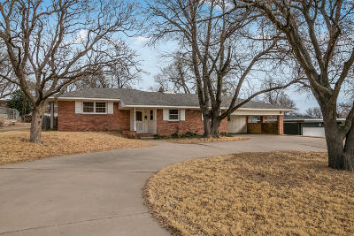 Potter County, Randall County Single Family Home For Sale: 4224 Erik Ave