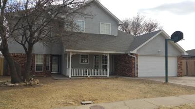 Amarillo Single Family Home For Sale: 4309 Scotty Dr