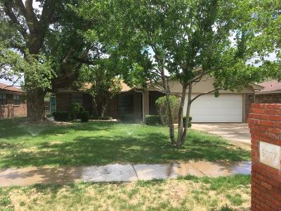 Amarillo Single Family Home For Sale: 6007 Chisholm Cir