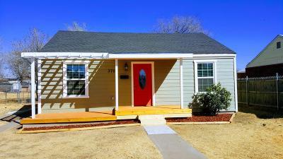 Amarillo Single Family Home For Sale: 3705 Monroe St