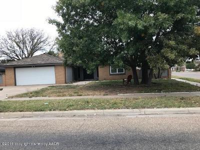 Amarillo Single Family Home For Sale: 6200 Estacado Ln