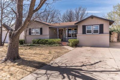 Amarillo Single Family Home For Sale: 2914 Roosevelt St