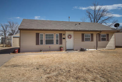 Randall Single Family Home For Sale: 4303 Travis St