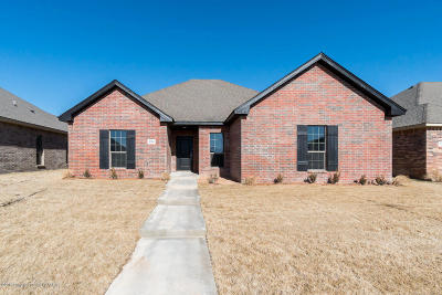 Amarillo Single Family Home For Sale: 9200 Kori Dr