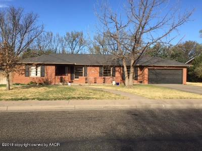 Potter County Single Family Home For Sale: 2406 Travis St