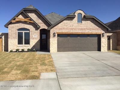 Amarillo Single Family Home For Sale: 6807 Tatum Cir