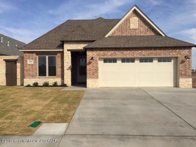 Amarillo Single Family Home For Sale: 6809 Tatum Cir