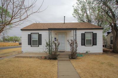 Amarillo Single Family Home For Sale: 3701 Monroe St