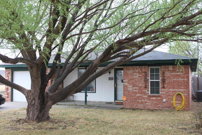 Panhandle Single Family Home For Sale: 501 Hazel