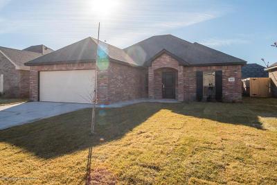 Amarillo Single Family Home For Sale: 9201 Kori Dr