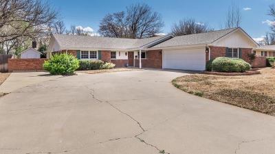 Amarillo Single Family Home For Sale: 6205 Adirondack Trl
