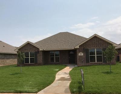 Amarillo Single Family Home For Sale: 9505 Kori Dr