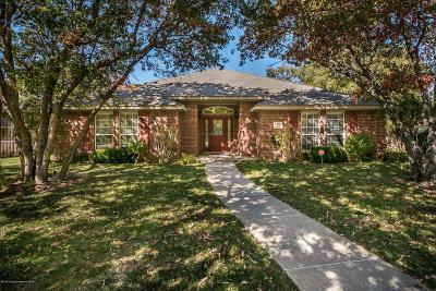 Amarillo Single Family Home For Sale: 7308 Andover Dr
