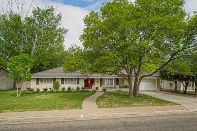 Amarillo Single Family Home For Sale: 2808 Teckla Blvd