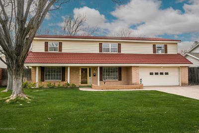 Amarillo Single Family Home For Sale: 3902 Danbury Dr