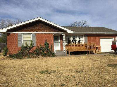 Amarillo TX Single Family Home For Sale: $114,900