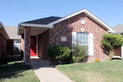 Amarillo Condo/Townhouse For Sale: 5808 Farmers Ave