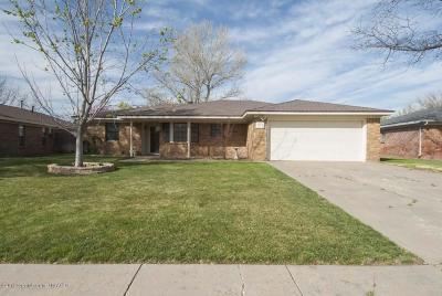 Amarillo Single Family Home For Sale: 6106 Yale St