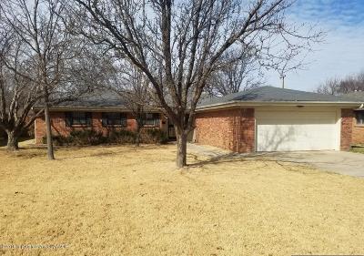 Amarillo Single Family Home For Sale: 3612 Sunlite Street