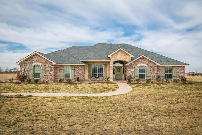 Single Family Home For Sale: 5500 Buffalo Springs Trl