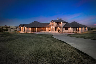 Amarillo Single Family Home For Sale: 7101 Red Rock Rd