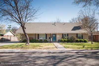 Amarillo Single Family Home For Sale: 4129 Julie Dr